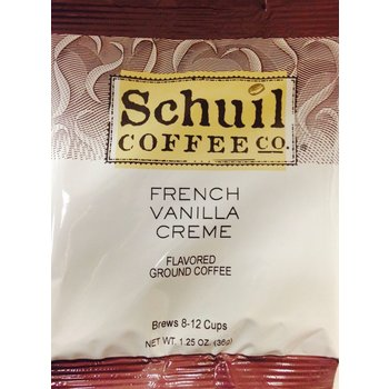 Schuil French Vanilla Pkt - single pot