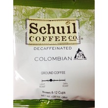 Schuil Columbian Pkt Decaf - Single Pot