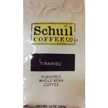 Schuil Tiramisu Flavored Coffee 12oz