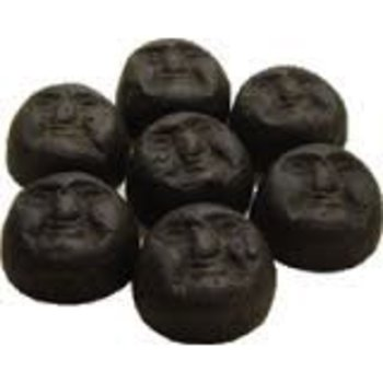 Averys Sweet Clown Face Licorice 4 Oz bag