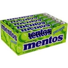 Van Melle Green Apple Mentos 15 ct box