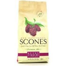 Sticky Fingers Bakery Raspberry Scone mix 16 oz