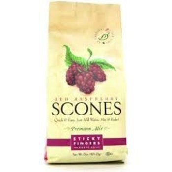 Sticky Fingers Bakery Raspberry Scone mix 16 oz