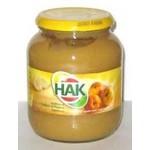 Hak Applesauce - 24 OZ glass jar