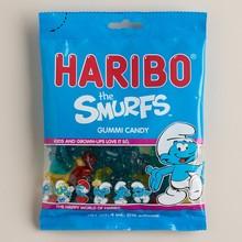 Haribo Smurf Gummi Candy Bag 4 OZ