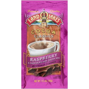 Land O Lakes LL Raspberry Cocoa Packet 1.25 OZ