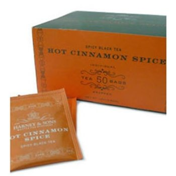 Harney & Son H&S Hot Cinnamon Spice Tea Bags 50 CT