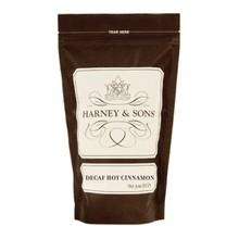 Harney & Son H&S Decaf Hot Cinnamon Spice Tea Sachets 50 CT