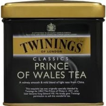 Twinings Loose leaf Prince of Wales tea - 4 oz tin
