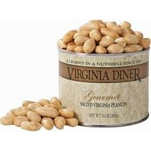 Virginia Diner Gourmet Peanuts Salted 10 oz Can