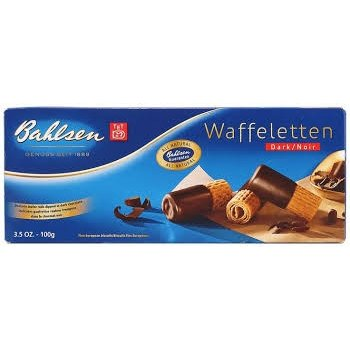 Bahlsen Dark Wafer Rolls 3.5 OZ Box