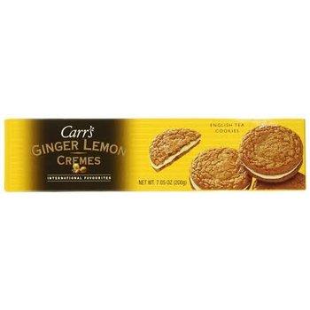 Carrs Ginger Lemon Cremes 7.05 OZ