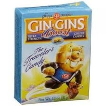 Ginger People Gin Gins Ginger Candy Super Strength 1.1 oz travel box