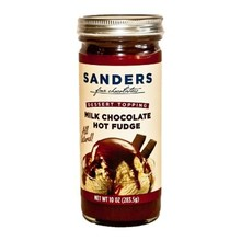 Sanders Milk Chocolate Fudge Topping - 10 OZ
