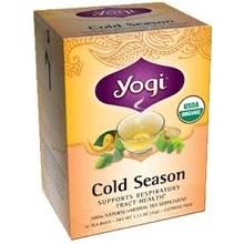 Yogi Organic Cold Season 16 CT