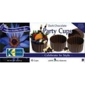 Kane Large Chocolate Dessert Cups 2.47OZ