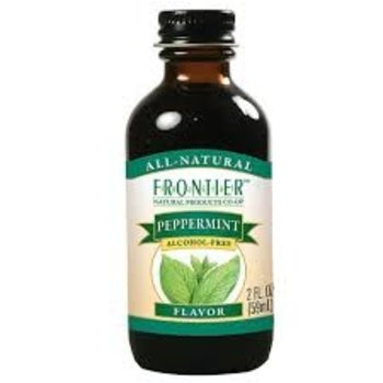 Frontier Peppermint Flavor - 2 Oz Jar