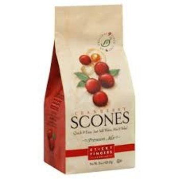 Sticky Fingers Bakery Cranberry Scone mix 15 oz