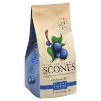 Sticky Fingers Bakery Wild Blueberry Scone Mix 16 OZ