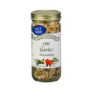 Lesley Elizabeth Oh So Garlic Seasoning blend 3.6 oz shaker