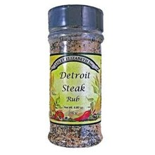 Lesley Elizabeth Detroit Steak Rub 6.8 oz shaker
