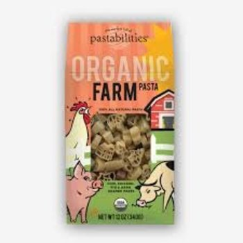 Pasta Shoppe Organic Farm Animals Pasta 12oz