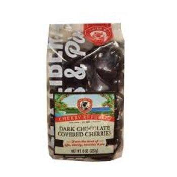 Cherry Republic Dark Chocolate Covered Cherries 8  oz