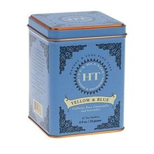 Harney & Son H&S Chamomile and Lavender Yellow & Blue 20 Ct Tea Tin