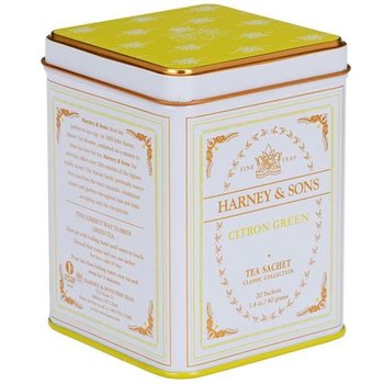 Harney & Son H&S Citron Green Classic White Tea Tin - 20 CT