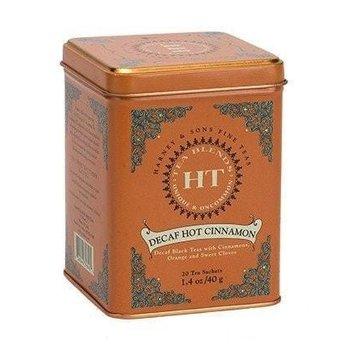Harney & Son H&S Decaf Hot Cinnamon Tea 20 Ct Tin