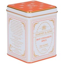 Harney & Son H&S Hot Cinnamon Spice Classic White Tea Tin - 20 CT