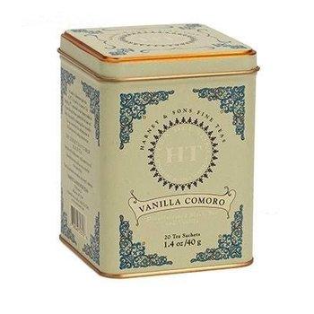 Harney & Son H&S Vanilla Comoro Tea 20 Ct Tin