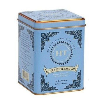Harney & Son H&S Winter White Tea 20 Ct Tin