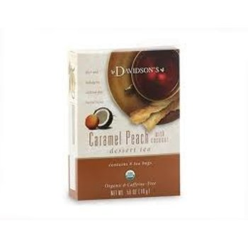 Davidsons DT Caramel Peach Tea 8ct