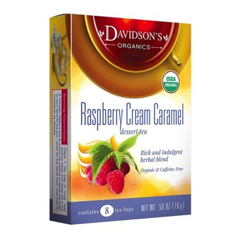 Davidsons DT Raspberry Cream Caramel Tea 8ct