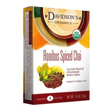 Davidsons DT Rooibos Spiced Chai 8 ct