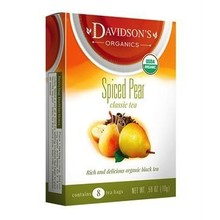 Davidsons DT Spiced Pear Tea 8 ct