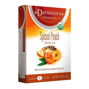 Davidsons DT Spiced Peach tea 8 ct