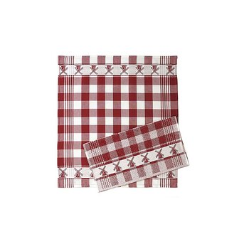 Twenstse Red Mill Tea Towel 25x23 inches