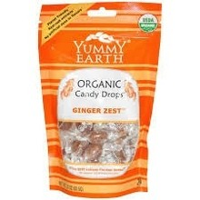 Yummy Earth Ginger Zest Hard organic hard candy 3.3 oz