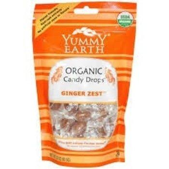 Yummy Earth Ginger Zest Hard organic hard candy 3.3 oz