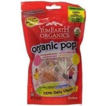 Yummy Earth Organic Candy pops 3.3 oz