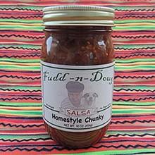 Fudd-n-Doug Chunky Salsa - 17 Oz Jar