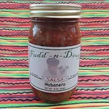 Fudd-n-Doug Habanero Salsa  - 17 Oz Jar