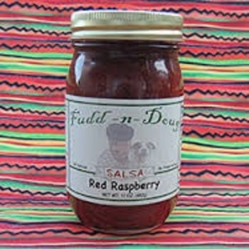 Fudd-n-Doug Red Raspberry Salsa  - 17 Oz Jar