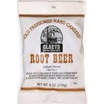 Claeys Rootbeer flavored hard candy 6 oz bag