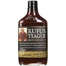 Rufus Teague Whiskey Maple BBQ Sauce 16 oz