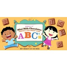 Gerrits Chocolate ABC's 3.1 oz box