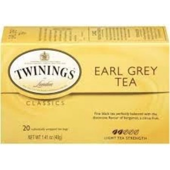 Twinings Earl Grey tea - 20 ct bags