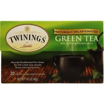 Twinings Decaf Green tea - 20 ct bags